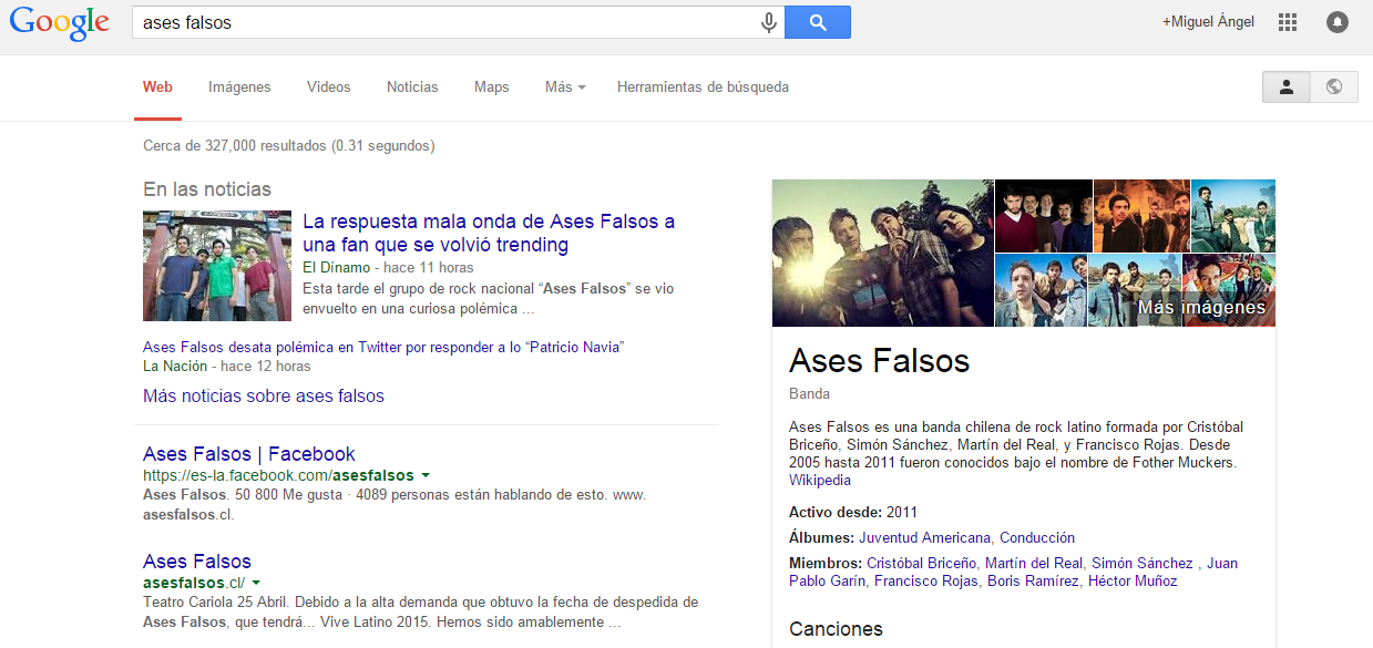 ases falsos google