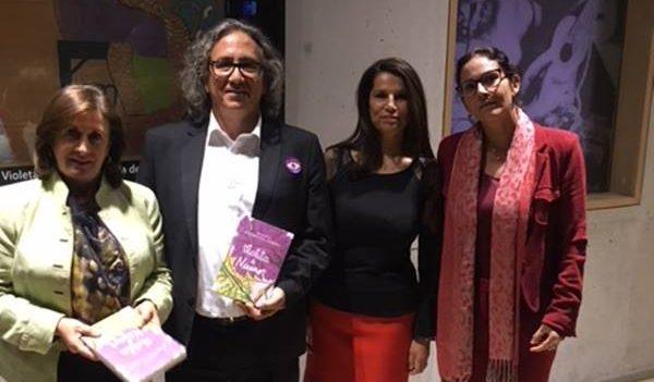 """""""Violeta & Nicanor"""", el libro que une a dos gigantes de la cultura mundial"""